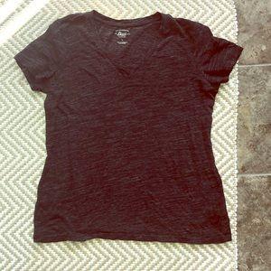 G. H. Bass & Co. charcoal grey short sleeved shirt